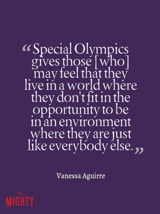 25 Things Everyone Needs to Understand About Special Olympics