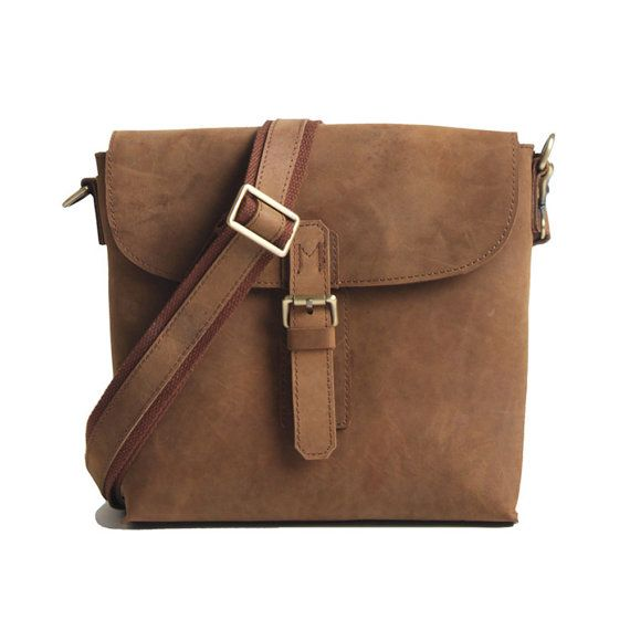 Leather Satchel Bag Crossbody Mens Leather by camerasbagstraps, $99.00