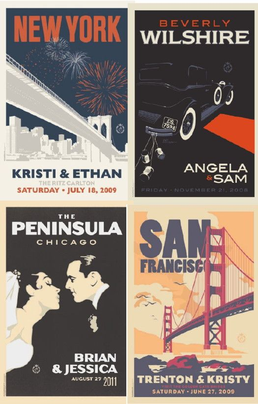 vintage travel art