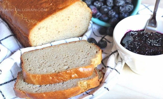 Grain-Free Paleo Bread-made from cashew butter