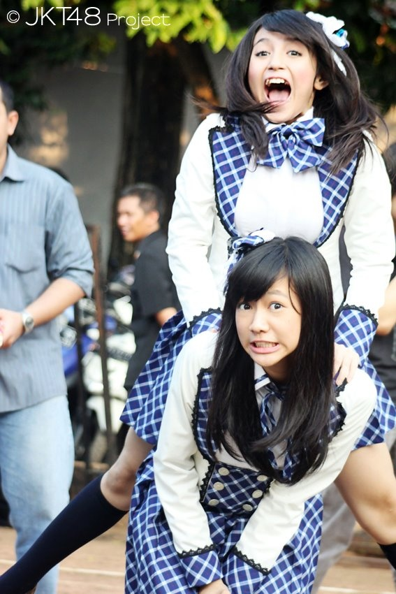 Shania Junianatha, Nabilah Ratna Ayu Azalia #JKT48 #AKB48