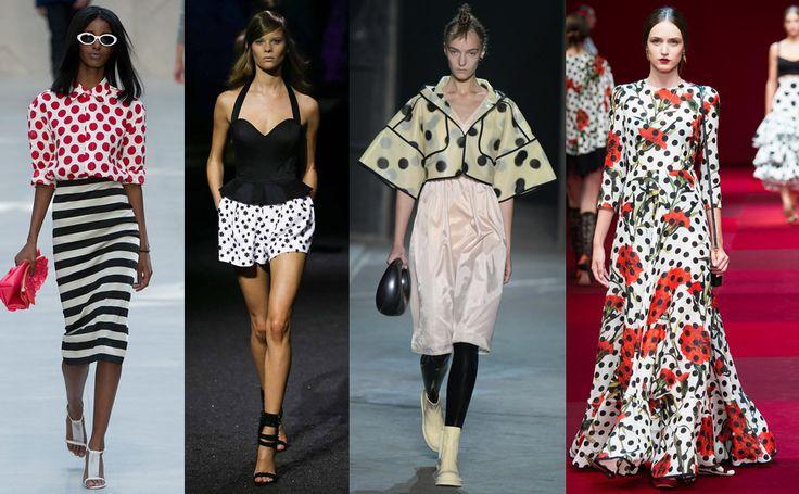 Горох – модный тренд в сезоне весна-лето 2015 #burdastyle #burda #мода #fashion