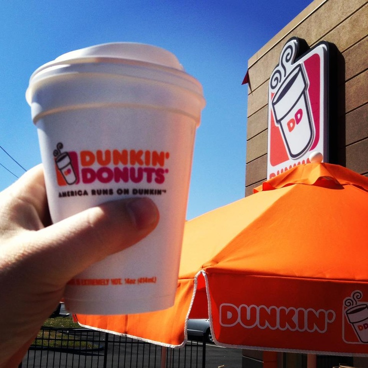 Mmmm. Dunkin Donuts Coffee