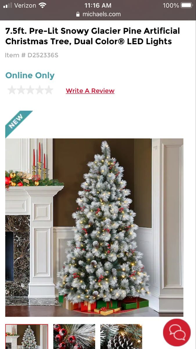 7 5 Ft Dunhill Fir Hinged Artificial Christmas Tree With 700 Low Voltage Dual Soft White Mult In 2021 Christmas Tree Color Changing Lights Artificial Christmas Tree