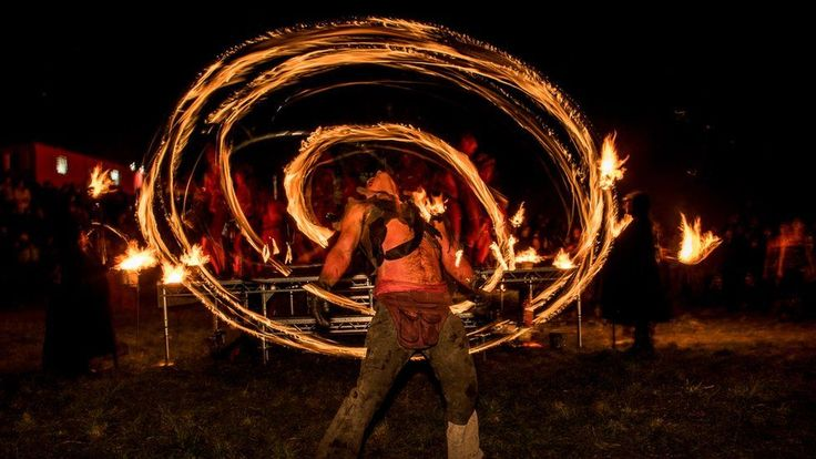The coming of summer has been marked in Edinburgh as revellers gathered for the spectacular Beltane Fire Festival.  The celebrations, based on the the old Celtic May Day, began above the city on Calton Hill as the sun went down on Sunday.