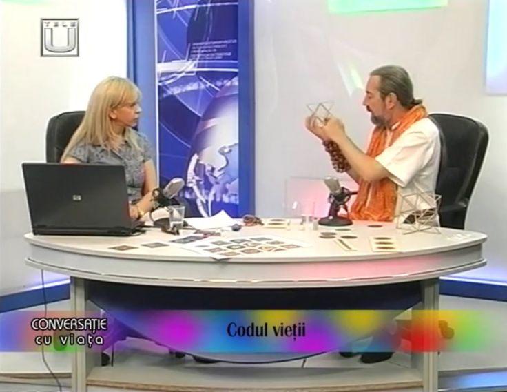 """Emisiunea """"Conversație cu Viața"""" - invitat Maestrul Serghei Danisin - 30..."""