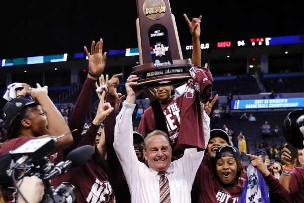 """DALLAS — Dawn Staley rubs her thumb and index fingers together as she talks about the minute level of detail she employs when she watches video and prepares scouting reports — practices that she learned from Tara VanDerveer. """"It really is down to this,"""" Staley said,..."""