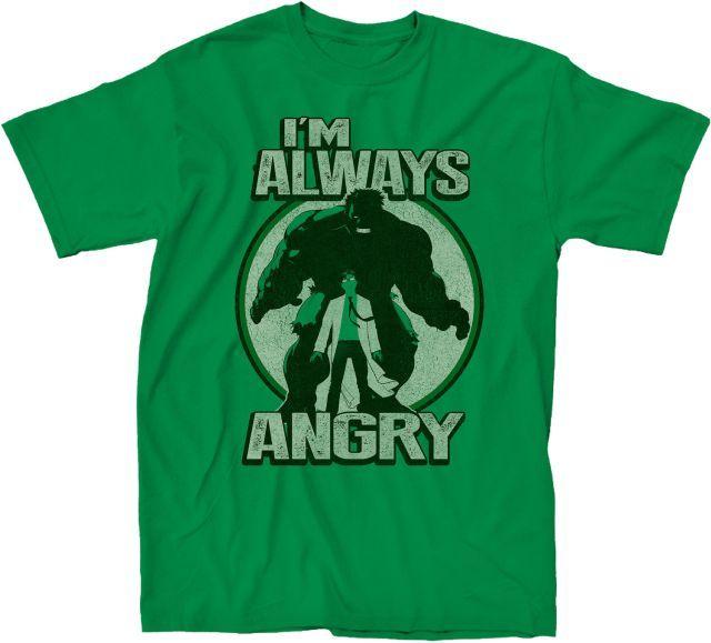 I'm Always Angry Hulk T-Shirt - Superhero T-Shirt