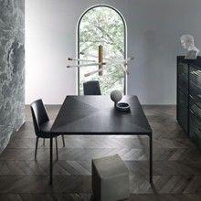 FLAT Table designed by Giuseppe Bavuso for Rimadesio.  www.santiccioli.com