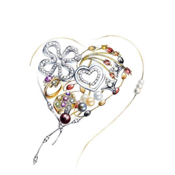 illustration jewel Florence Gendre