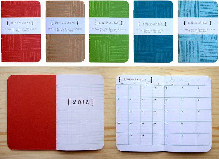 Diy Quote Calendar : Handmade pocket calendar diy pinterest