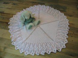 Old Fashioned Lace, Baby Blanket