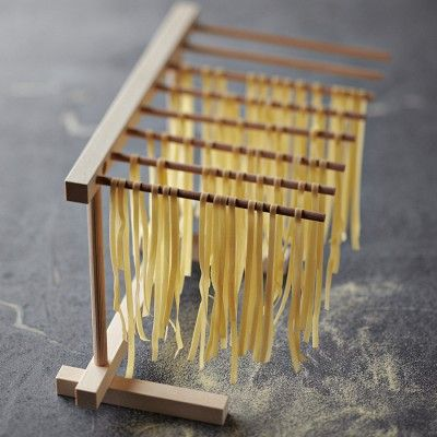 just purchased last night at Williams Sonoma. Hopefully this will make the pasta drying process more contained and with less clean up.