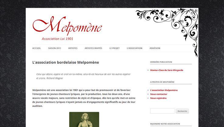 Au croisement des influences musicales classiques et baroques, Melpomène innove à Bordeaux en réalisant la promotion de jeunes chanteurs lyriques.
