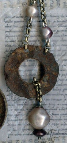 Art Made From Found Objects | ... one of a kind jewelry made from found objects and recycled objects