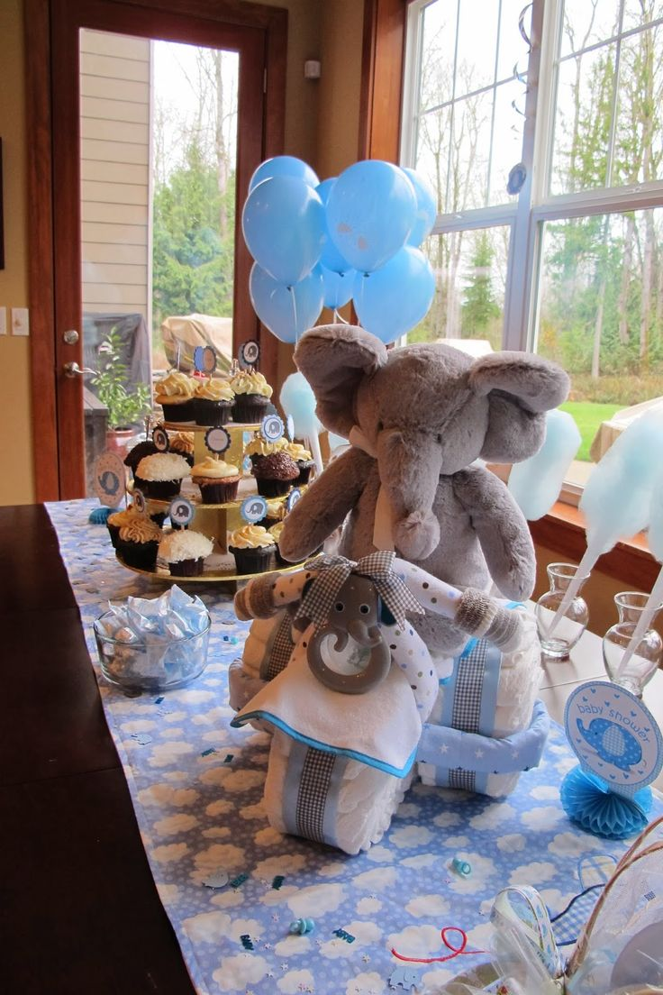 Sew What's Cooking With Joan!: Baby Boy Shower Ideas