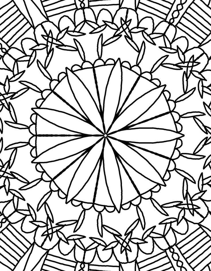 1000 ideas about mandala a imprimer on pinterest mandala imprimer coloriage mandala - Madala a imprimer ...