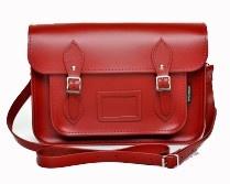 Zatchels Red Leather satchel