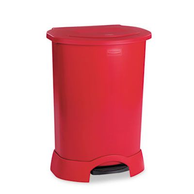 Walmart Outdoor Trash Cans 8 Best Pedal Bins Intercare  Rubbermaid Qatar Images On Pinterest