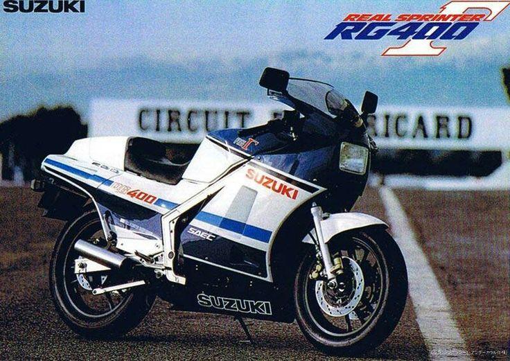Suzuki rg 400 2strokes