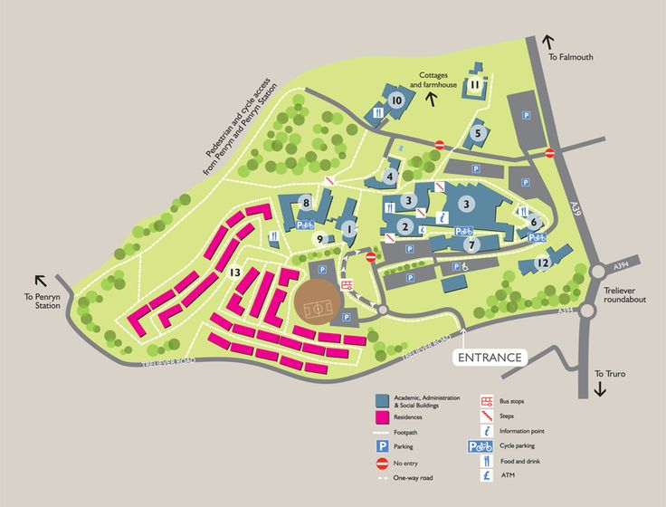 Penryn Campus map - University of Exeter