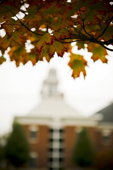 Fall at Ashland University is one of the prettiest sights.