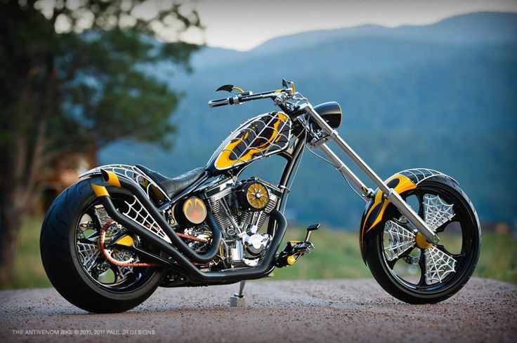 Paul Jr. Designs Antivenom Bike |  The Anti-Venom Bike is a true one-off, a new…