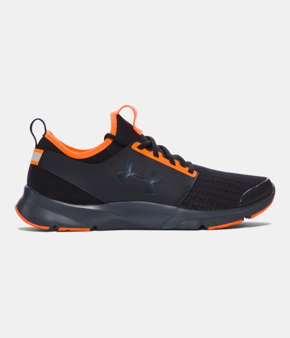 Men's UA Drift Neon Running Shoes, Black