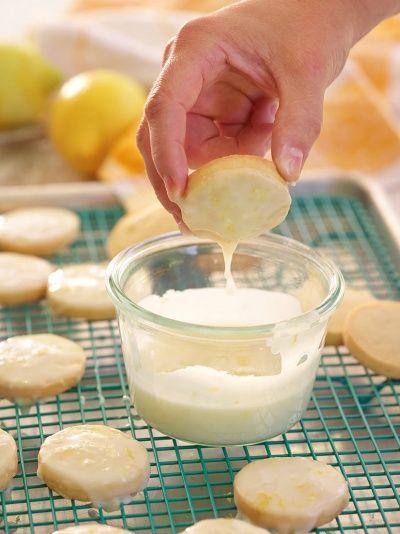 Trisha Yearwood's Glazed Lemon a Cookies