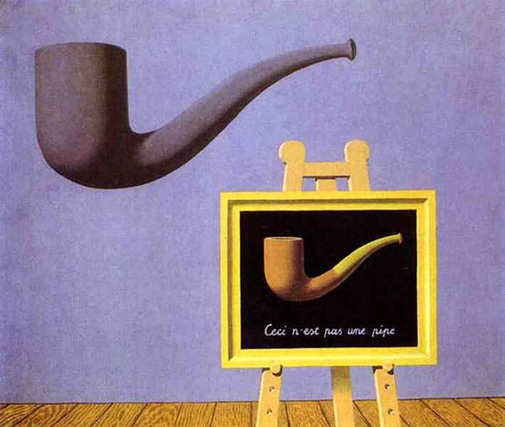René Magritte - The Two Misteries, 1966