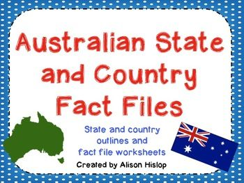 Australian State and Country Fact File