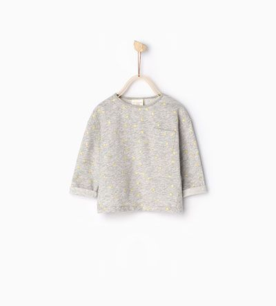 T-shirt met glanzende stippen-TOPJES-Baby meisje | 3 maanden - 4 jaar-COLLECTIE SS16 | ZARA Nederland
