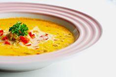 Mad på 4 sal: Pikant suppe
