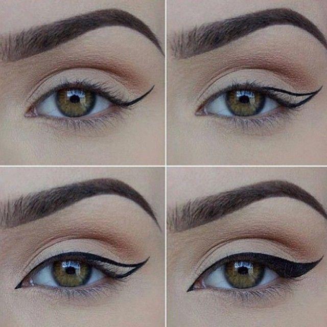 Perfekter Eyeliner I Will Try Makeup Makeup Eye Makeup Eyeliner