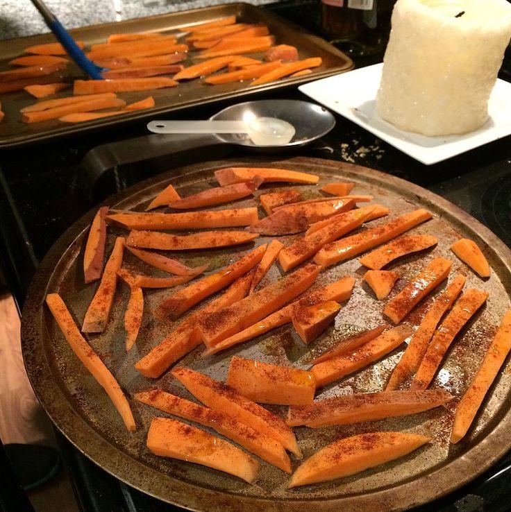 Crispy Sweet Potato Fries Recipe: AdvoCare Approved!