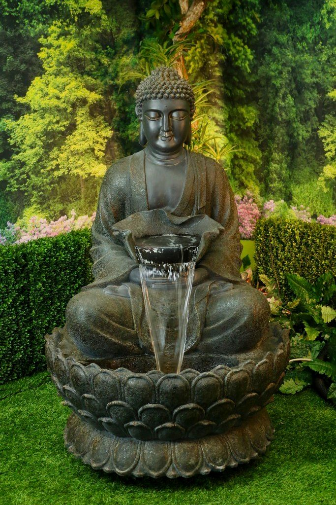Garden Outdoor Adventure Water Fountains Comprise Our Most Multiple Types Only At Soothing Walls These Wo Buddha Statue Garden Fountains Outdoor Buddha Garden
