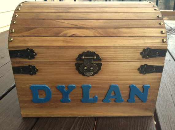 Kids Toy Chest  Wooden Chest  Keppsake Box  by CountryBarnBabe, $55.00