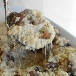 Mushroom and Roasted Garlic Quinoa
