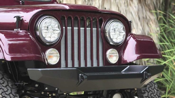 "ICON ""Reformer"" Custom Jeep CJ7 For Sale"