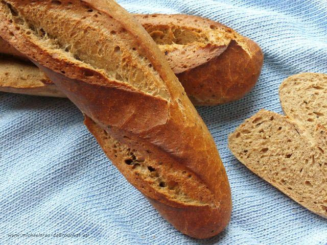 Dobrou chuť: Pšenično-žitné bagety