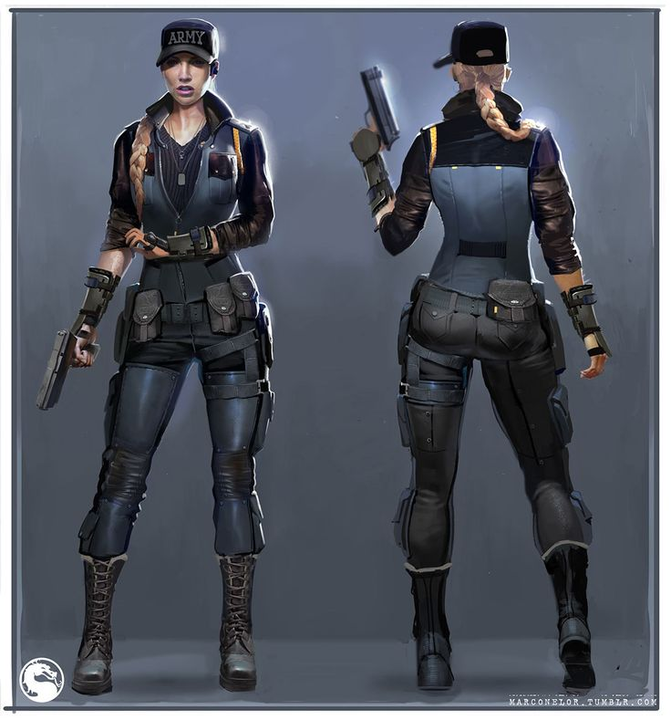 General Sonya Blade Concept from Mortal Kombat X