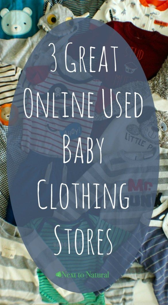 3 Great Online Used Baby Clothing Stores