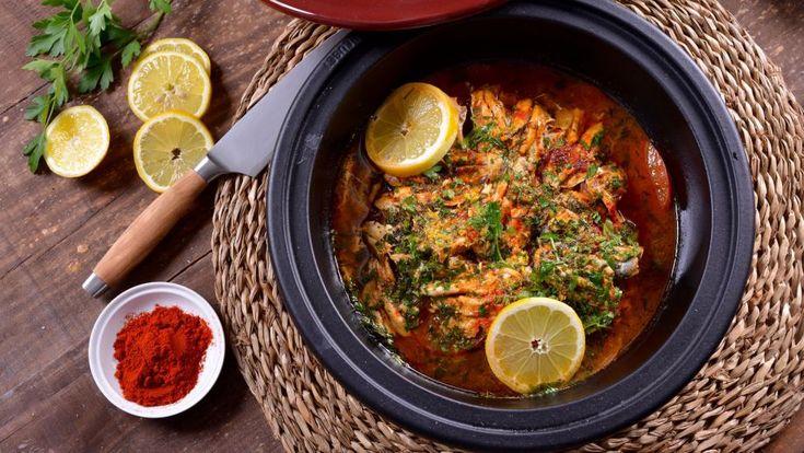 Tajín de sardinas (Tajin Dial Saradin) - Najat Kaanache - Receta - Canal Cocina