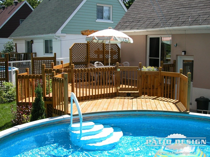 13 best deck ideas images on pinterest swimming pools for Pool deck design tool