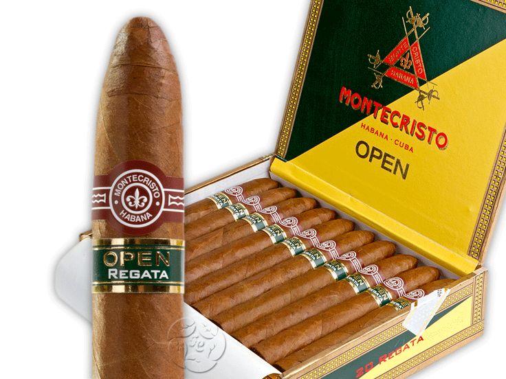 Сигары кубинские Montecristo Open Regata (Монтекристо, Куба) - отличная штука. Не очень понял, чем отличается от Мастера, может только по форме.