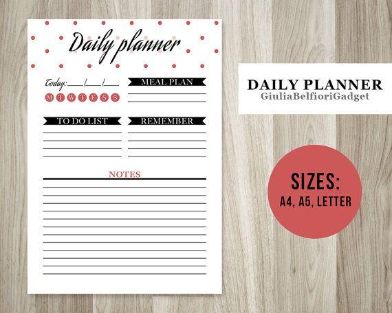 Best 25+ Daily agenda ideas on Pinterest Agenda planner, Daily - professional agendas