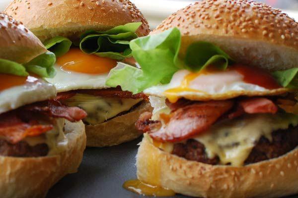 Beef Burgers - Weber
