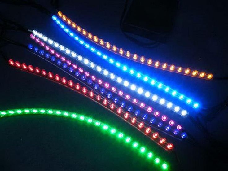 Backyard Lighting | Battery Operated Outdoor Lights LED Rope Strip