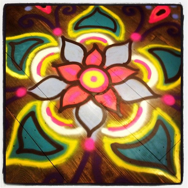 82 best images about rangoli on pinterest diwali for Floor rangoli design