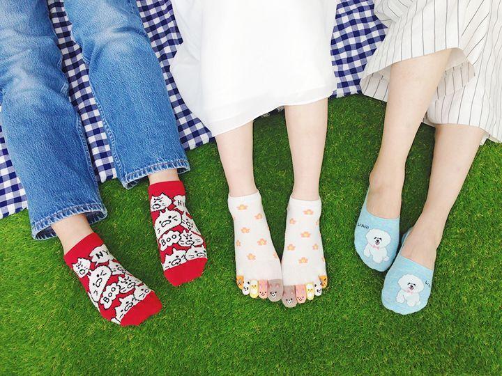 """お花見の""""ツカミ""""に!チュチュアンナの新作、靴を脱いでもかわいいアニマルソックス   靴下・インナーブランド〈チュチュアンナ(tutuanna)〉が、アニマル柄ソックスの新作を発売した。  お花見などの行楽の機会が増える春夏シーズン。靴を脱ぐことも多くなるこの季節に、チュチュアンナでは""""靴を脱いでもかわいい""""靴下としてアニマル柄のソックスを展開する。    ブームとなったネコのほか、パンダやアザラシといった動物たちのゆるい表情が魅力のアイテムが多数登場。タイプも豊富に..."""